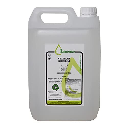 5 litres de glycérine végétale EP/USP Grade