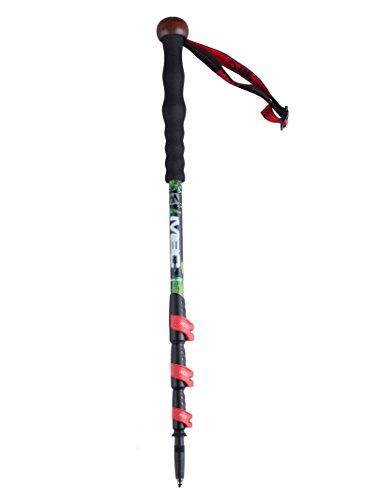 MBC CollapsibleTrekking Pole 99% Carbon Fiber Hiking Walking Stick...