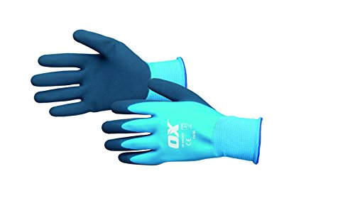OX Waterproof Latex Gloves Size 9 / Large
