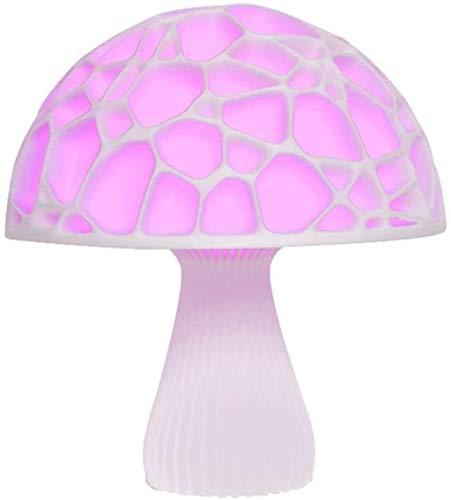 Lámpara Decorativa Lámpara de Mesa LED Mushroom Light Loon Light 3D Imprimir Luna Luz Creativa Noche Luz Lámpara de Noche Luz de Noche