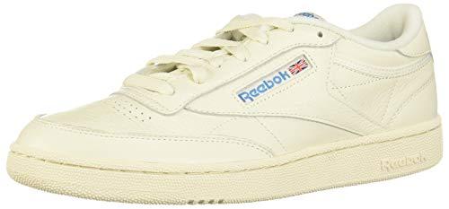 Reebok Herren Club C 85 MU Sneaker, Chalk/Paperwhite/Cyan, 43 EU