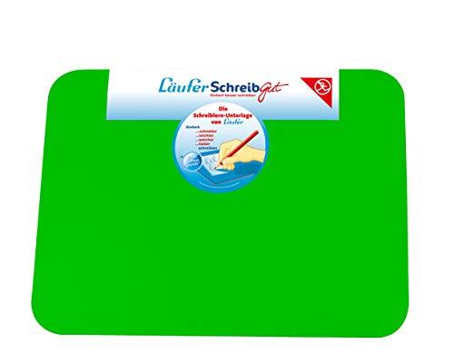 Läufer 30912 SchreibGut Schreibtischunterlage zum Schreiben lernen, für den perfekten Schulanfang, verschiedene Farben, 33,5 x 45 cm, grün