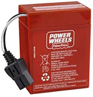 Technical Precision Replacement for Fisher Price Barbie Corvette Power Wheels Battery This Item is Not Manufactured by Fisher Price