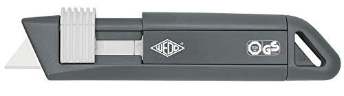 Wedo CERA-Safeline Snap-off blade knife Anthracite,White