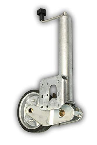 p4U Automatik Stützrad f. AL-KO Schwerlast 500 kg PKW Anhänger Wohnanhänger Trailer Rad 200x50 mm Vergleichsnummer 1212382/60703