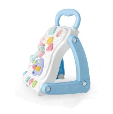 Great Features Of Children's Walker Baby Early Learning Puzzle Music Walker Children's Toys Multifun...
