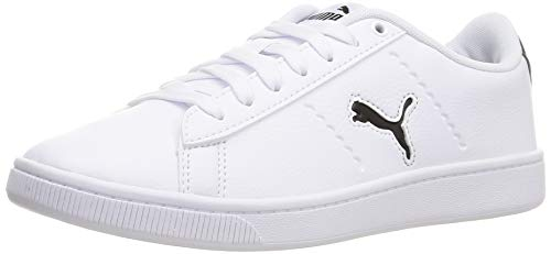 Puma Vikky V2 Cat, Zapatillas para Mujer, Blanco Negro, 39 EU