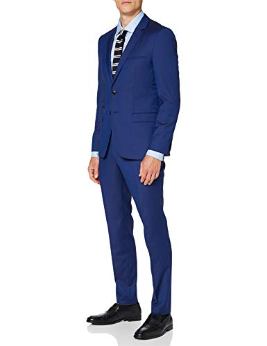 HUGO Mens Arti/Hesten193 Suit - Dress Set, Bright Blue(431), 44