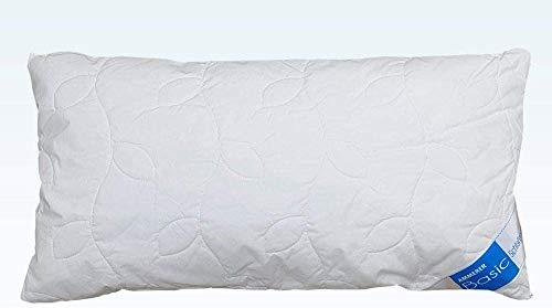 Frankenstolz Original Kissen mit kühlendem Tencel/Lyocell und weichen Faserbällchen, ideal für Schwitzer, Kochfest und damit ideal für Allergiker geeignet, Made in Germany, Größe ca. 40 x 80 cm