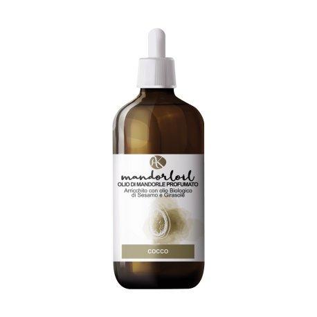 ALKEMILLA - Huile d'amande douce parfumée - Coco - Bio - Nichel Tested - 250 ml