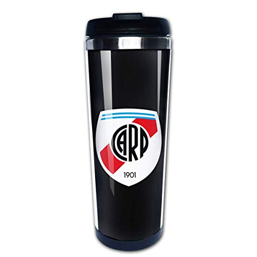 Water Bottle Cup Travel Mug Coffee Tumbler Coffee Cups River Plate FC Coffee Cup Stainless Steel Coffee Mugs Water Drink Bottle for Adults Kids