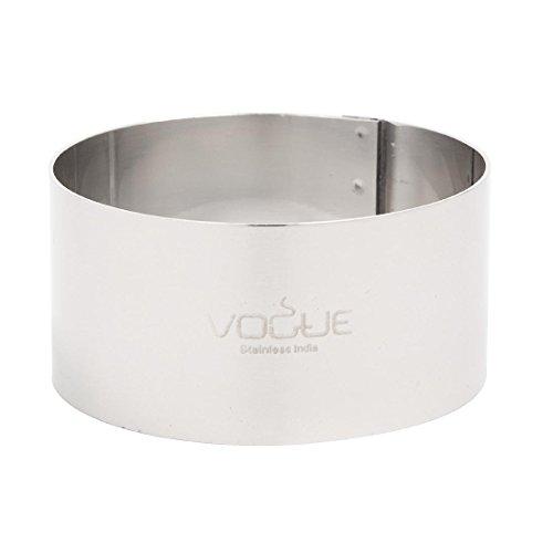 Vogue Mouleà gâteau en forme de cercle de mousse 7 x 3,5 cm