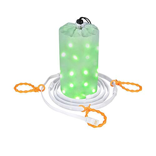 Dust2Oasis Camping Lights String, Portable Outdoor Camping Tent Light Lantern USB Powered LED Rope Light Strip Light for Camping,Hiking,Safety,Emergencies,Garden,Party, Bedroom Deco