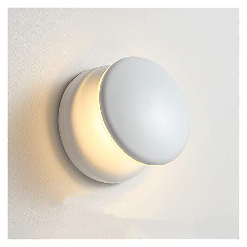 Lámparas de Pared Interior Moderno LED de la pared acrílica Sconte para las escaleras del corredor del dormitorio Cuarto de baño Simple Iluminación interior Lámparas Lámparas de la pared del pasillo c