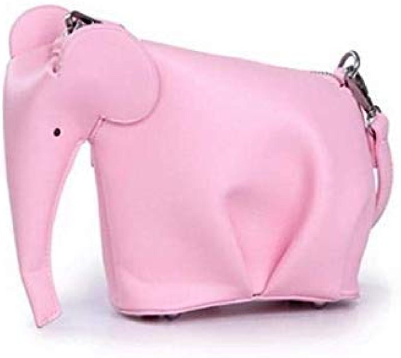 Women Small Elephant Handbags Casual Animal Crossbody Bags Fashion Girls Ladies Messenger Bags Purse Hand Bag whdv0174 Pink