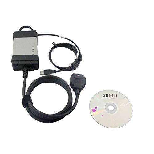 2014D OBD2 OBDII Automotor Fehlerdiagnosescanner-Werkzeug Vollchip Green Board für Vida Dice/Black & Grey der Volvo-Serie