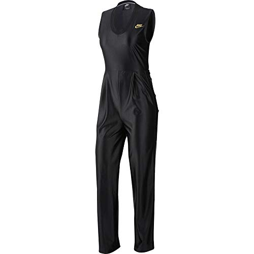 Nike Damen Ns Jumpsuit Gl Dnk, Black, M
