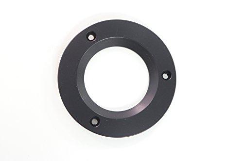 Manfrotto 319 Adattatore per Treppiedi da Culla 100 mm a Culla 75 mm, Nero