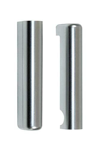 ROTO NT Abdeckkappe Ecklager DIN Links 097500 oder 97500 0116 Silber (230527) 4 Stück