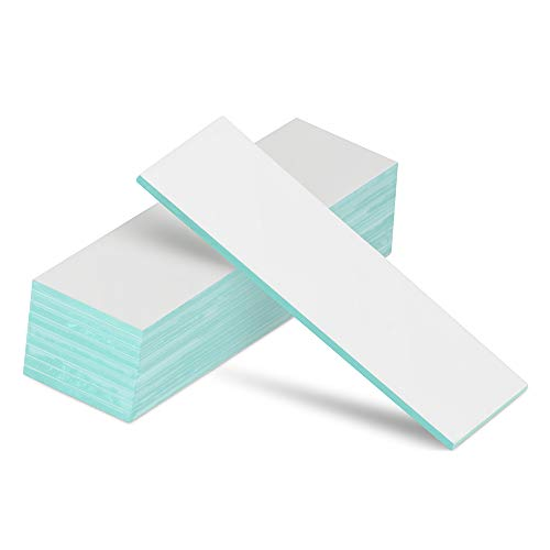 StonyLab Glass Backed TLC Classical Silica Gel Plate, 2.5 x 7.5 cm Thin Layer Chromatography Analytical Plate with Silica Gel, Pack of 80