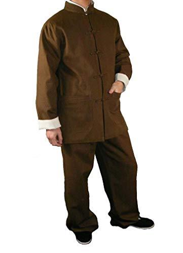 Interact China Handgemachte Brauer Kung Fu Tai Chi Premiumleinen Anzug Von Maßschneider #107