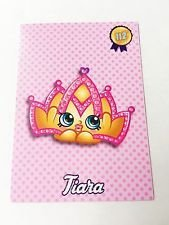 Shopkins Season 3 Glitter Card 112 Tiara