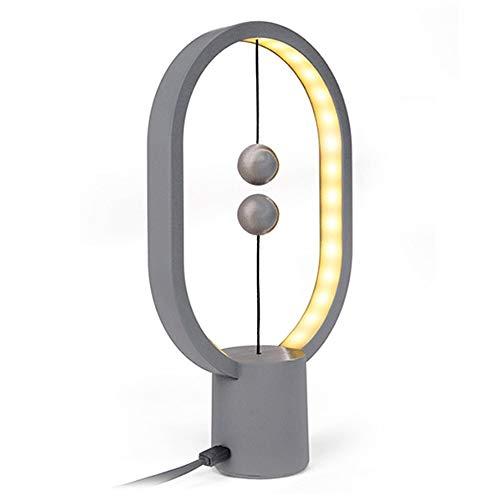 TRPYA Europese creatieve magnetische tafellamp tafellamp ovaal inductie woonkamer slaapkamer decor nieuwigheid