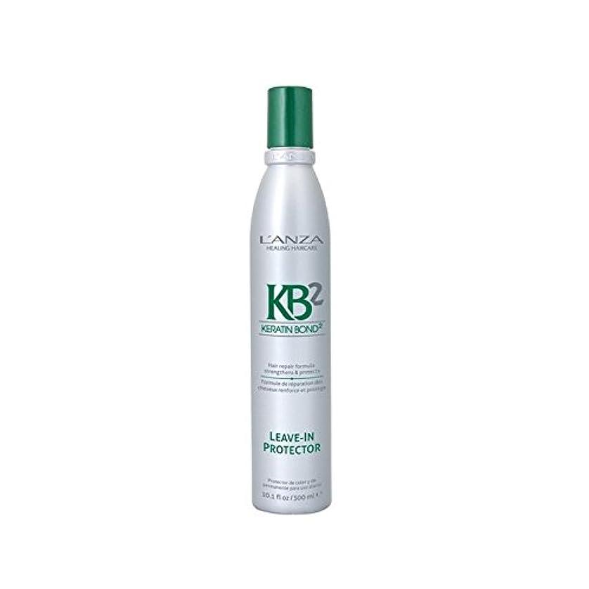 契約した増加する殺人アンザはプロテクターヘアトリートメント(300ミリリットル)に残し2 x2 - L'Anza Kb2 Leave In Protector Hair Treatment (300ml) (Pack of 2) [並行輸入品]