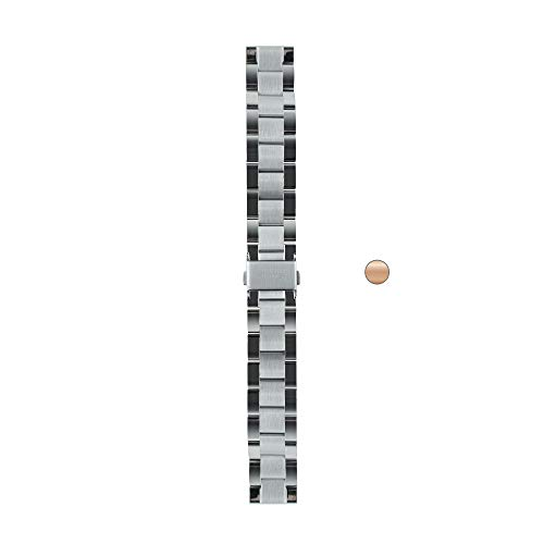 Withings Bracelet Links, 18mm Mixte Adulte, Métal Argent