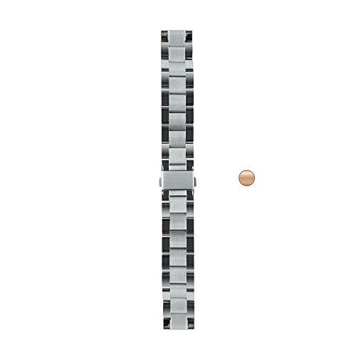 Withings Bracelet Links, 18mm Mixte Adulte, Métal Argent