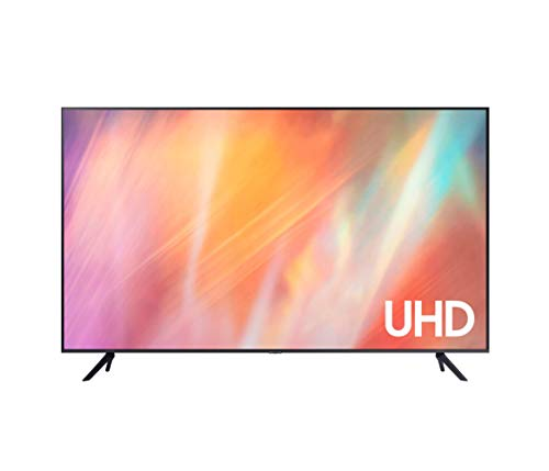 Samsung 4K UHD 2021 43AU7105 - Smart TV de 43' con Resolución Crystal UHD, Procesador Crystal UHD, HDR10+, PurColor, Contrast Enhancer y Alexa Integrada