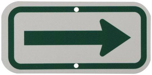 señal flecha aluminio fabricante Brady