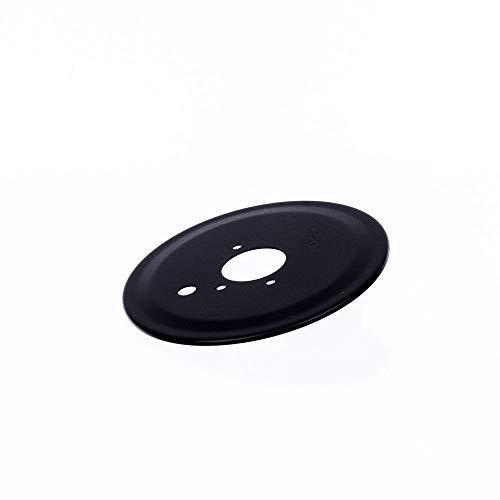 316264803 Range Surface Burner Skirt Genuine Original Equipment Manufacturer (OEM) Part Black