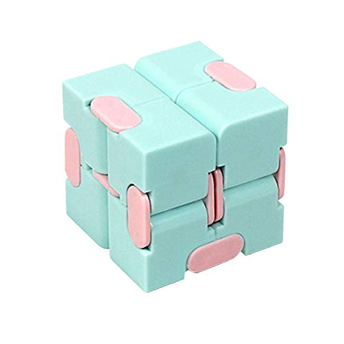 courti Mini Infinity Cube Toy, Infinity Cube Fidget Toys, Infinity Cube Sensory Autism & Anxiety Stress Relief Toys, for Kids and Adults Office Staff Killing Time