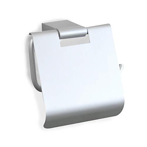 Tatay Ice - Portarrollos de Aluminio con Tapa, 14 x 7 x 12,5 cm