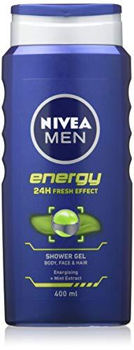 NIVEA Energy Duschgel, 400 ml, 6 Stück