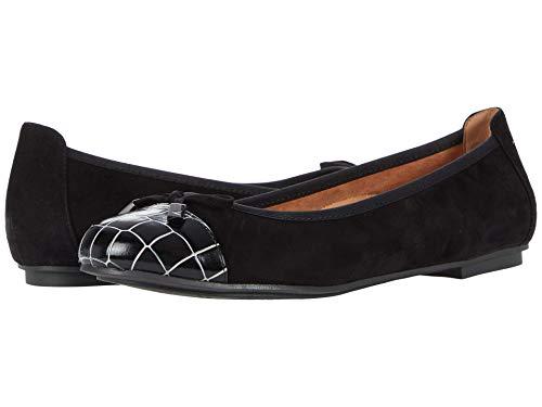 Vionic Minnie Womens Kitten Heel Black Croc - 8.5 Narrow