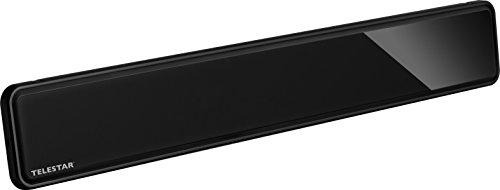 Telestar 5102227 Antenne 12 LTE Active DVB-T/DVB-T2 (Full HD, Gain : jusqu'à 35 DB, Filtre LTE, 5 V...