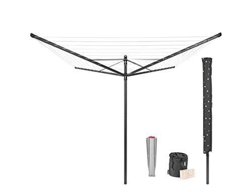 Brabantia Outdoor Washing Line, Anthracite, 50...