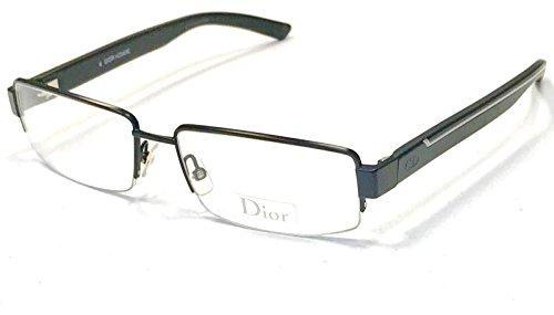Dior Homme Herren Brillengestell Schwarz Schwarz 54