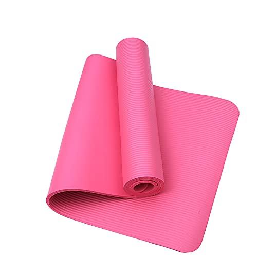 Y-H-X Alfombra de Yoga para Ejercicio al Aire Libre y Interior con Soporte de Correa, tamaño de Espuma Grueso de Alta Densidad 72'l x 32' w