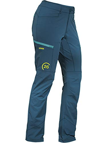 Uvex 26 Arbeitshose - Blaue Sicherheits-Bundhose für Damen 46