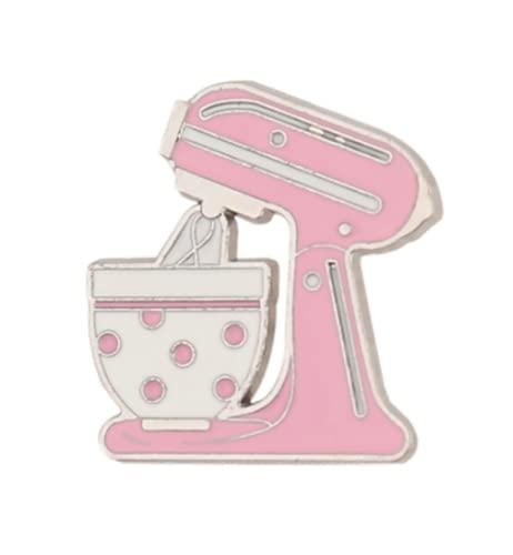 KIWI DAISY Stand Mixer / Cake Mixer / Bakery / Cooking / Baking Enamel Pin Brooch