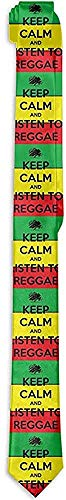 Keyboard cover Männer Krawatte Reggae Rasta Listing zu Reggae Grün Gelb Rot Mode Seide Skinny Krawatten Einzigartige Geschenk Krawatten