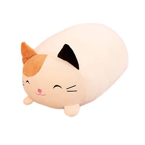 Câlin Jouet Pelucheux poupée de Chat couché câlin s'il y a Un Animal de Chat de Porc Autour des Bras Soft Fluffy Cadeau d'anniversaire pour Les Enfants 30cm - Petit Chat #