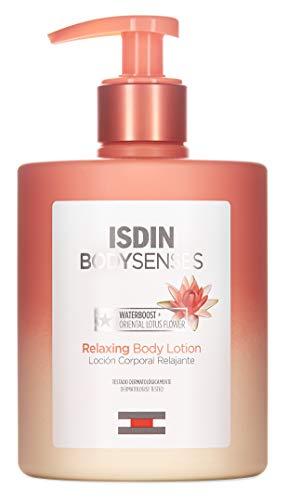 ISDIN BodySenses Loción Corporal, Gama Relajante con Flor de Loto, Hidrata tu piel de sensaciones - 500ml