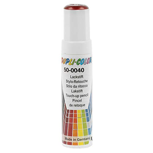 Dupli-Color 859281 Auto-Color-Lackstifte, 12 ml, AC Rot Metallic 50-0040