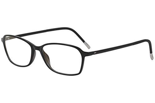 Eyeglasses Silhouette SPX Illusion Full Rim 1583 9010 black 52/15/130 3 piece fr
