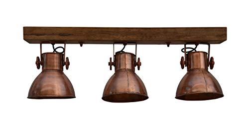 Hängelampe Deckenlampe Deckenspot Deckenstrahler Spotlampe Spot Retro Vintage Antik Kupfer Design...