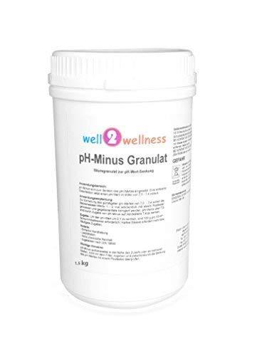 well2wellness pH Minus Granulat/pH Senker Granulat 1,5 kg
